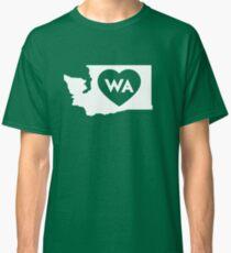 Ich liebe Washington State Classic T-Shirt