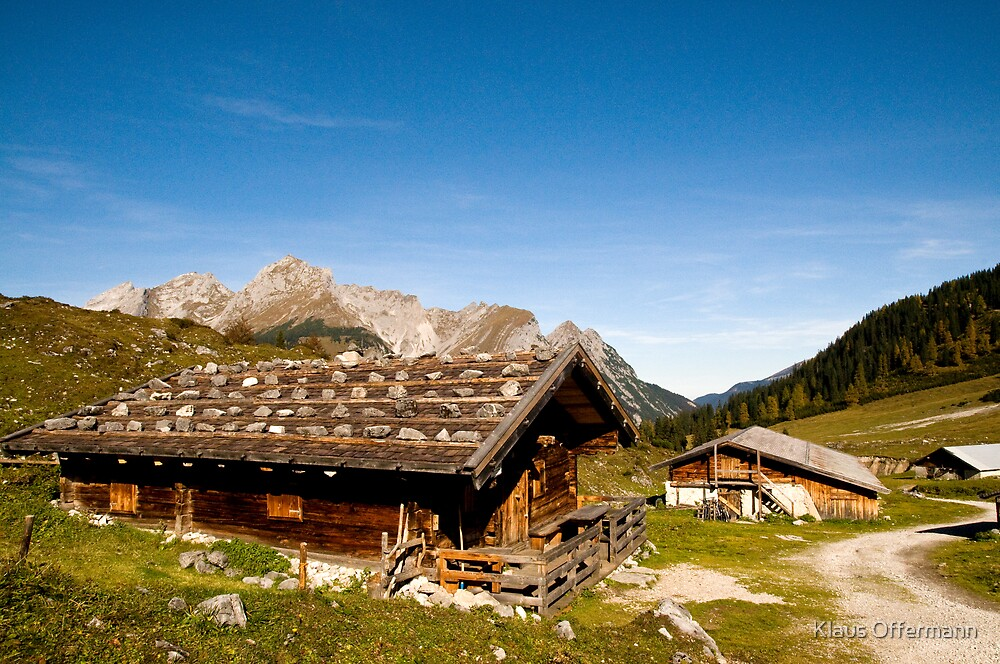 Alpine huts  by Klaus Offermann