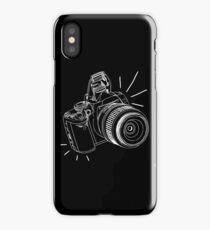dslr / blk on blk iPhone Case/Skin