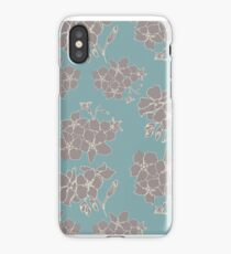 Mink Flowers iPhone Case