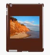 The Red Cliffs of Sidmouth iPad Case/Skin