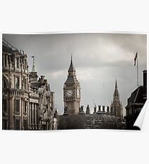 London, Big Ben tower Poster