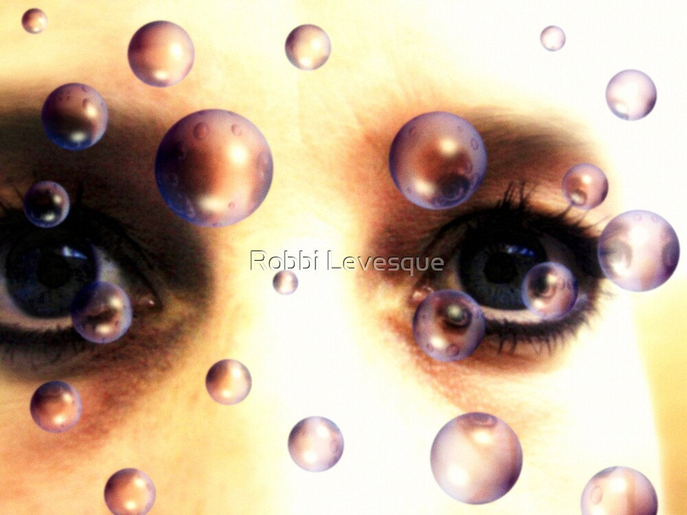 Eyes Behind The Bubbles by down23