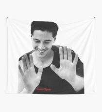 Keanu Reeves - Youth (by ACCI) Wall Tapestry