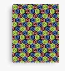 RGB Labyrinth Canvas Print