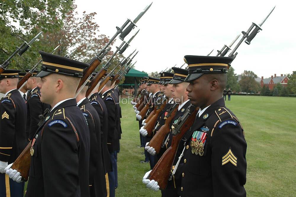 US Army 3d Infantry Regiment - Marches with Bayonet Fixed by John Michael