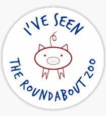 Roundabout Zoo Sticker
