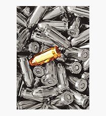 Golden Bullet Photographic Print