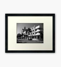 Ocean Drive Framed Print