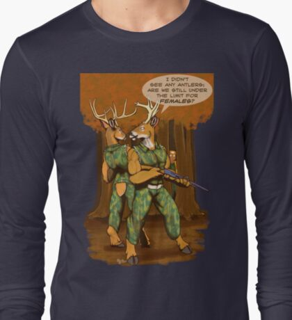 No Antlers T-Shirt
