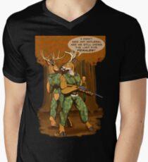 No Antlers Men's V-Neck T-Shirt