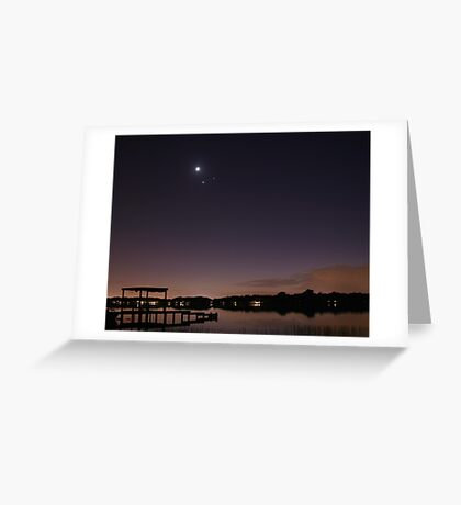 Conjunction Greeting Card