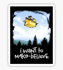 I Want To Make Believe Sticker
