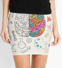 Brain Mini Skirt