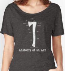 Anatomy of an Lumberjack Axe Women's Relaxed Fit T-Shirt