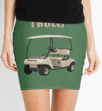 This is How I Roll - Golf Cart Pun Mini Skirt