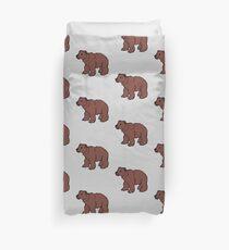 Cute Grizzly Bear  Bettbezug