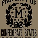 Property Confederate States Marines by Larry Oates