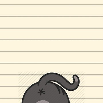 Cat Butt Paper by DaniHoffmann