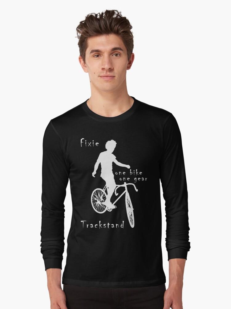 Fixie - one bike one gear - Trackstand (black) by Stefan Trenker