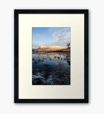 Blackmount Sunrise Framed Print
