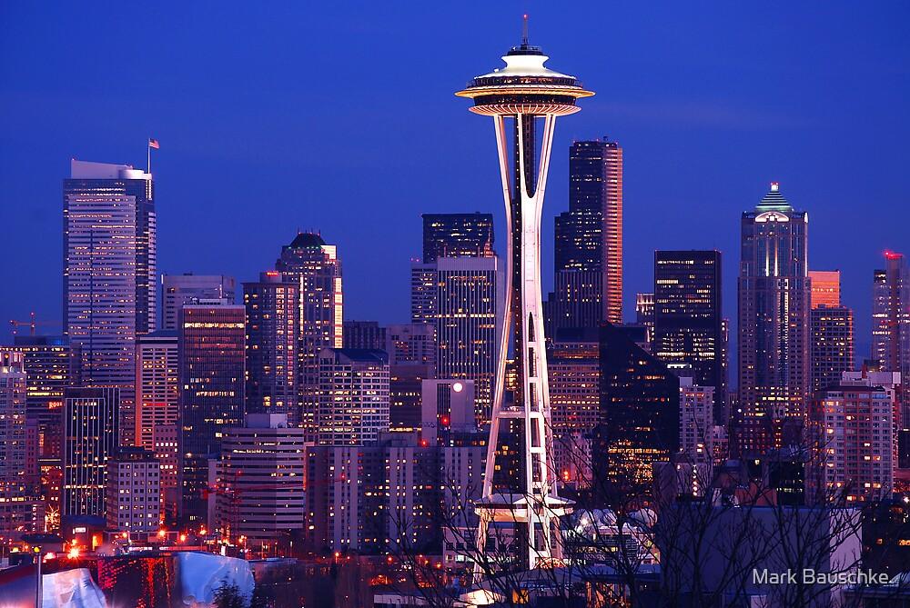 Seattle Cityscape by Mark Bauschke