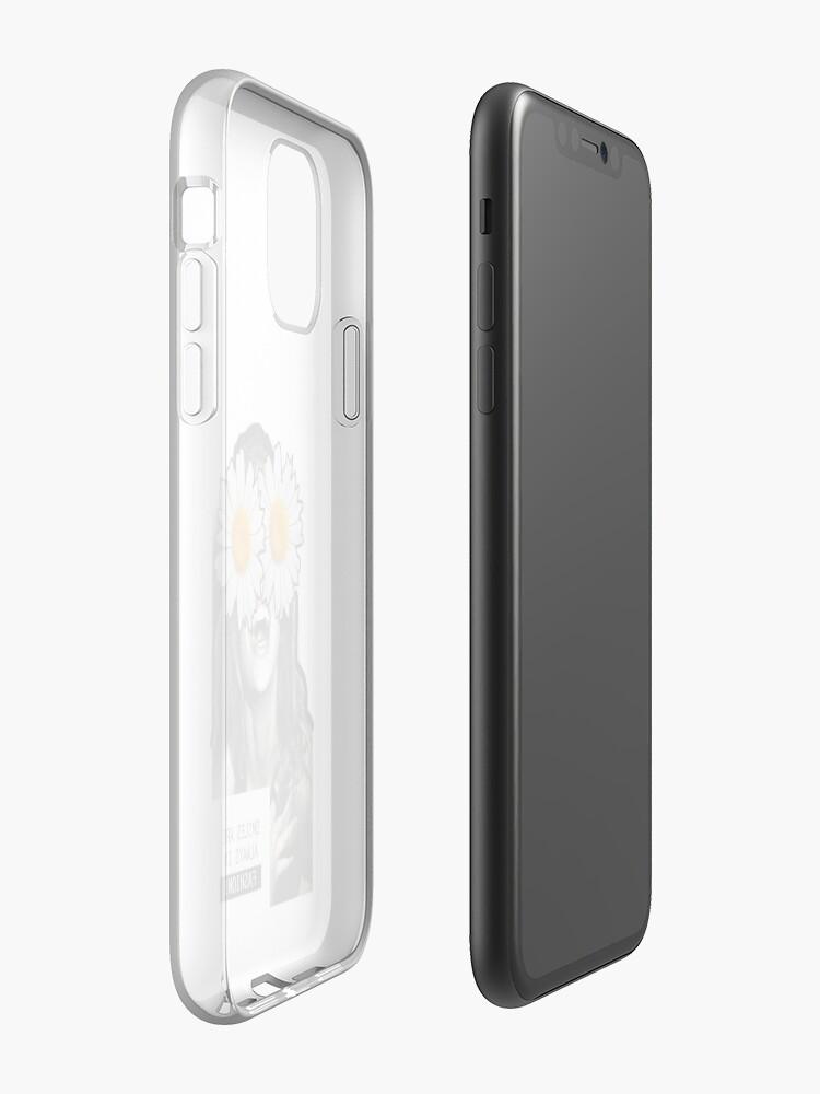 Coque iPhone «SOURIRE DE MODE», par claudia-canovas