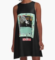 Monopoly Retro Game Board - Revised Edition A-Line Dress