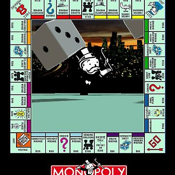 Monopoly Retro Game Board - Revised Edition by RyanSilberman