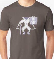 8-bit Hatbox Ghost - Haunted Mansion Unisex T-Shirt