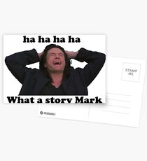 WHAT A STORY MARK THE ROOM Postcards