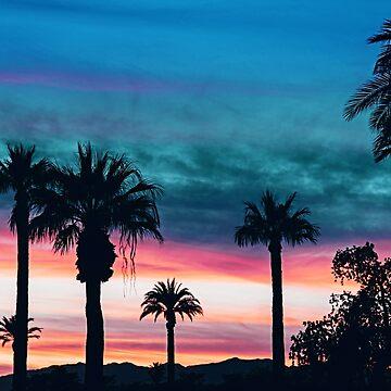 CALIFORNIA SUNSET BAY by SUBGIRL