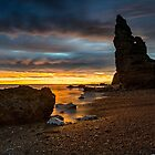 Seaham Chemical Beach Sunrise by Reg-K-Atkinson
