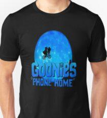 Blue Goonies Phone Home Unisex T-Shirt