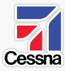 Cessna aircraft USA Sticker