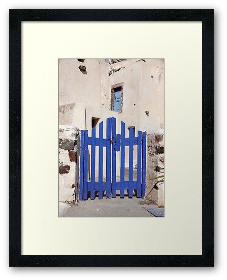 Old Blue Gate  by phil decocco