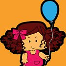 My blue balloon... by Nuh Sarche