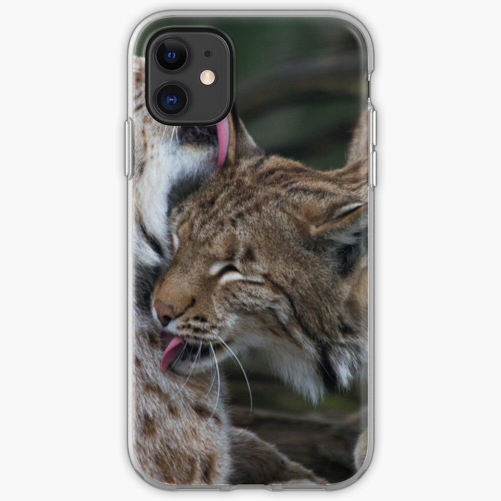 Caring for each other iPhone Soft Case