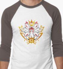 Solgaleo stamp Men's Baseball ¾ T-Shirt