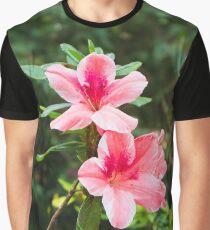 Sunken Garden Flower Graphic T-Shirt