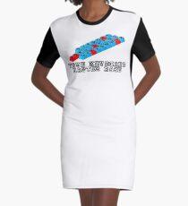 Dvorak Master Race Graphic T-Shirt Dress