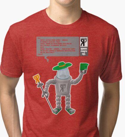 Robot Pimp Inc. - Line 10 Tri-blend T-Shirt