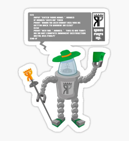 Robot Pimp Inc. - Line 10 Sticker