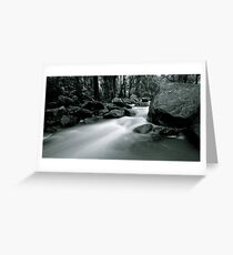 Storm waters Greeting Card