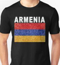 Armenia Flag High Detail Artistic Unisex T-Shirt