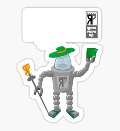 Robot Pimps Inc.  - Line 20 - Dark Sticker