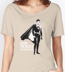Stranger Things Bob Newby Superhero Tshirt Women's Relaxed Fit T-Shirt