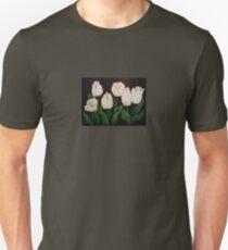 six white tulips Unisex T-Shirt