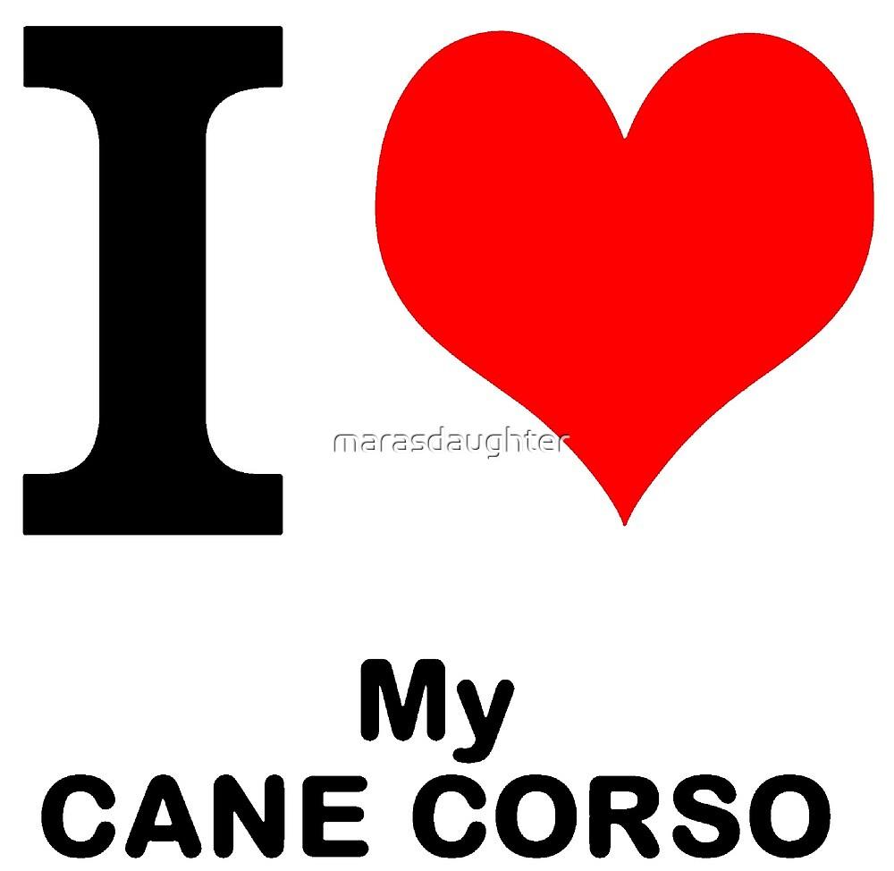 cane corso love by marasdaughter