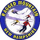 Skiing Ragged Mountain New Hampshire Ski by MyHandmadeSigns